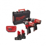 FUEL POWERPACK Milwaukee M12 PP2A-402C