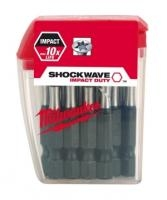 Milwaukee Bity Shockwave PH2, 50mm, sada 10ks