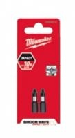 Milwaukee Bity Shockwave Hex 4mm / 25mm, sada 2ks
