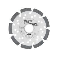 Milwaukee diamantový kotúč Speed ​​Cross Huddy 115mm-230mm
