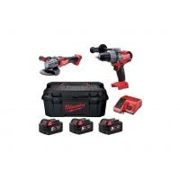 Milwaukee M18 set2-503W POWERPACK + KUFOR