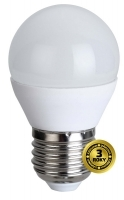LED žiarovka mini globe, 6W, E27,3000K, 420L